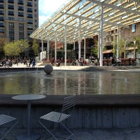Photo taken at Director Park by Richard W. on 4/17/2013