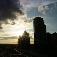 Photo taken at Brentwood Town Centre SkyTrain Station by John R. on 8/19/2013