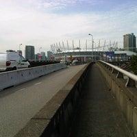 Photo taken at Dunsmuir Viaduct by John R. on 9/26/2012