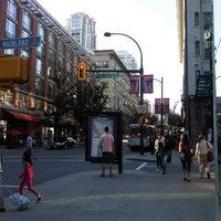 Photo taken at Yaletown - Roundhouse SkyTrain Station by John R. on 9/18/2012