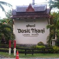Photo taken at Dusit Thani Laguna Phuket by John R. on 12/11/2012
