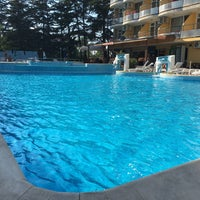 Photo taken at Pool @ Hotel Yantra by Ваня М. on 8/17/2016