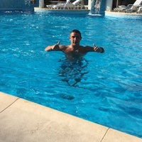 Photo taken at Pool @ Hotel Yantra by Ваня М. on 8/18/2016