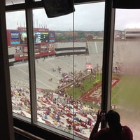 Photo taken at West Skyboxes by Nicole G. on 9/21/2013