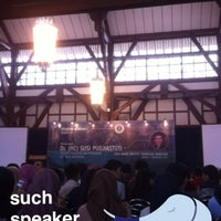 Photo taken at Aula Barat ITB by Michael H. on 2/3/2017
