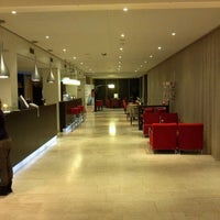 Photo taken at Hotel NH Amsterdam Zuid by Девятко Р. on 1/6/2013