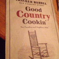 Photo taken at Cracker Barrel Old Country Store by Gayle W. on 7/22/2013