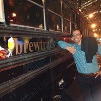 Photo taken at Brewtruc by Rich J. on 1/18/2014