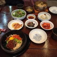 Photo taken at Jeonju Bibimbap Korean Restaurant by Mimi P. on 3/23/2016
