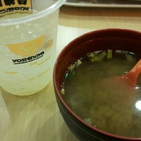 Photo taken at Yoshinoya (吉野家) by Novianty R. on 2/6/2016