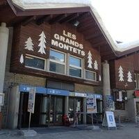 Photo taken at Téléphérique des Grands Montets (Lognan) by francesco e. on 1/7/2013