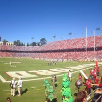 Photo taken at Stanford Stadium by Yonas H. on 10/19/2013