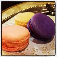 Photo taken at La Maison du Macaron by Sandra F. on 4/25/2013