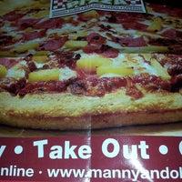 Photo taken at Manny & Olga's Pizza by TJazzy B. on 11/25/2013