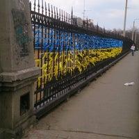 Photo taken at Строгановский Мост by Alex B. on 4/1/2014