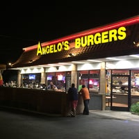 Photo taken at Angelo's Burgers by L P. on 4/25/2015