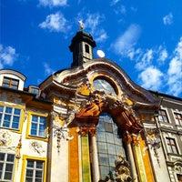Das Foto wurde bei Asamkirche (St. Johann Nepomuk) von @pureGLAMtv am 4/19/2013 aufgenommen