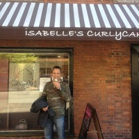 Photo taken at Isabelle's Curly Cakes by Michael D. on 5/1/2013