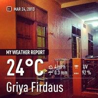 Photo taken at Griya Firdaus by DEDI S. on 3/24/2013