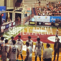 Photo taken at Sritex Arena by DEDI S. on 3/17/2013