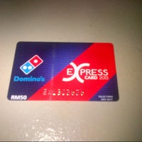 Photo taken at Domino's Pizza by Hooman._.Being on 1/4/2013