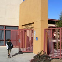 Photo taken at Sierra Lakes Elementary School by 🔱Marron🔱 on 8/9/2014