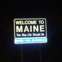Photo taken at Maine State Line by Chris G. on 10/6/2012