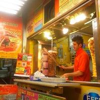 Photo taken at モーゼスさんのケバブ Doner Kebab by izmira .. on 6/21/2013