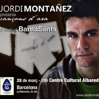 3/27/2014 tarihinde Jordi M.ziyaretçi tarafından Centre Cultural Albareda'de çekilen fotoğraf