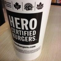 Photo taken at Hero Certified Burgers by Fatema R. on 11/13/2013
