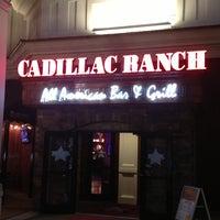 Photo taken at Cadillac Ranch by Lisa Rae on 3/21/2013
