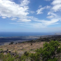 Photo taken at Kealakomo Overlook by Gill on 6/3/2013