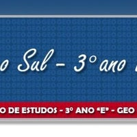 Photo taken at Terceiro Ano E - GEO Sul by Gabriel S. on 2/16/2013