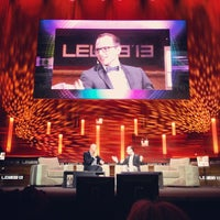 Photo taken at LeWeb London by Greg H. on 6/5/2013