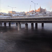 Photo taken at Centralbron by Greg H. on 12/3/2012