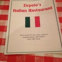 Photo taken at Zirpolo's Italian Restaurant by Debi B. on 11/9/2013