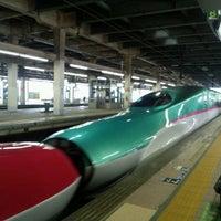 Photo taken at Tohoku Shinkansen Omiya Sta. by Takuji H. on 3/19/2013