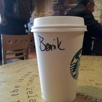 Photo taken at Starbucks by Pinak D. on 10/24/2012
