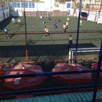 """Photo taken at Cancha de futbol 7 """"El Leñas"""" by Fernando E. on 1/19/2014"""