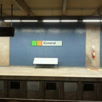 Photo taken at Metrô-DF - Estação Central by Ronaro S. on 4/1/2013