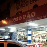 Photo taken at Panificadora e Confeitaria Nosso Pão by Ronaro S. on 2/19/2013