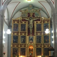 Photo taken at La Parroquia De San Gabriel Arcángel by Rodrigo M. on 7/26/2016