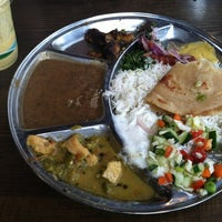 Photo taken at Kasa Indian Eatery by Amy P. on 9/17/2012