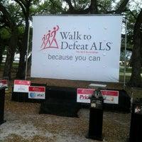 Photo taken at T.Y. Park Walking Trail by Soraida G. on 3/2/2013