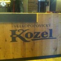 Photo taken at Kozlovna Apropos by Lenka S. on 4/1/2013