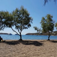 Photo taken at Agriolivadi beach by Manos L. on 7/28/2017