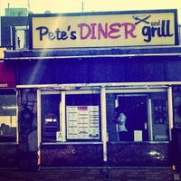 Photo taken at Pete's Diner & Grill by Pete P. on 8/31/2013