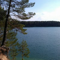 Photo taken at Голубые Озера / Blue Lakes by Nikita K. on 5/19/2013