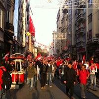 Photo taken at Taksim by Siyah on 10/29/2013
