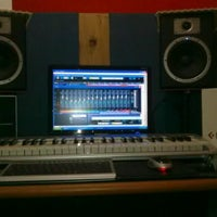 Photo taken at Mustika Maya's Music Studio by Septian P. on 3/28/2013